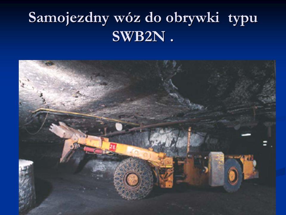 Samojezdny wóz do obrywki typu SWB2N.