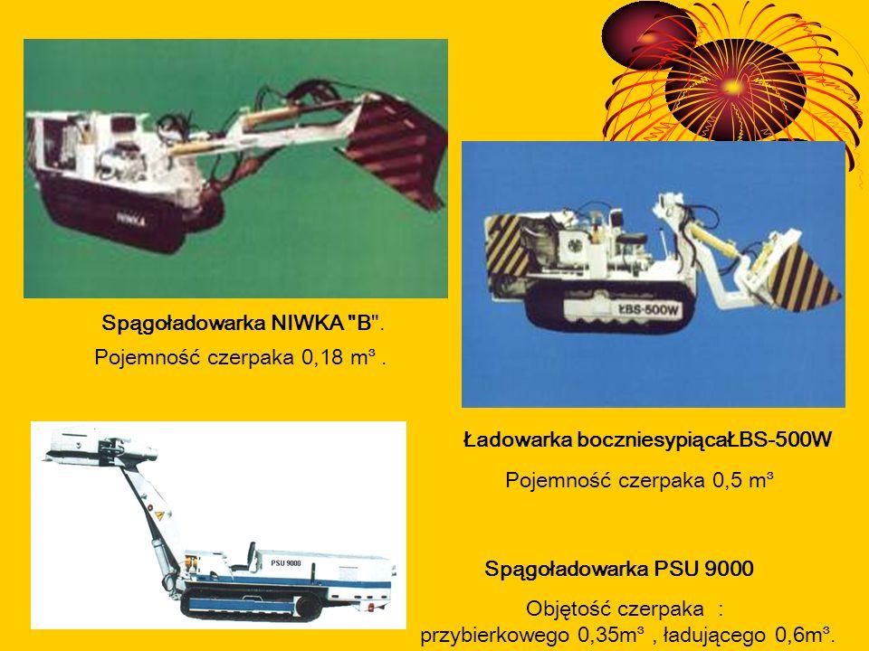 Spągoładowarka PSU 9000 Ładowarka boczniesypiącaŁBS-500W Spągoładowarka NIWKA