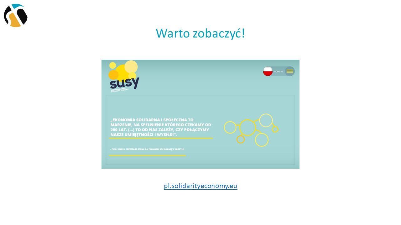 Warto zobaczyć! pl.solidarityeconomy.eu