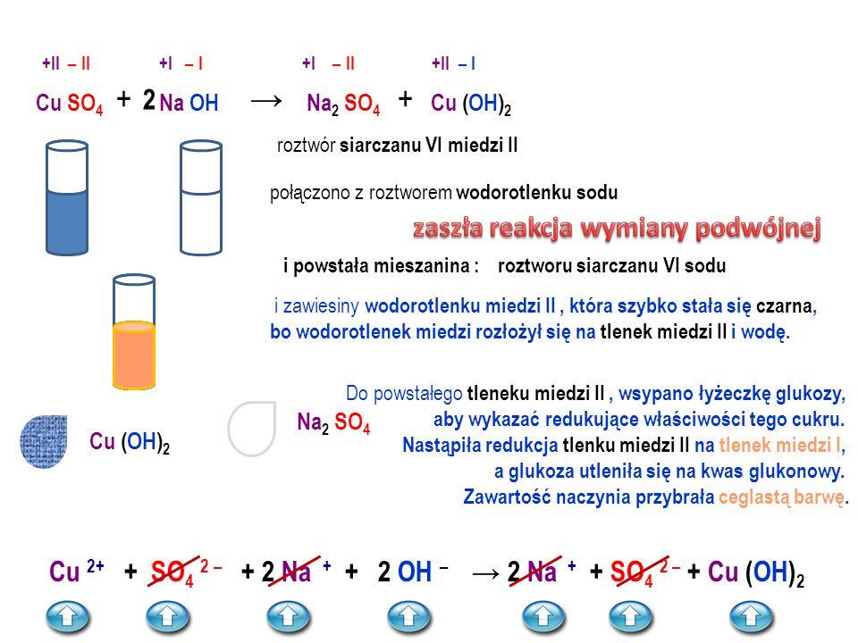 SÓL rozp + SÓL rozp  SÓL + 1 cząsteczka siarczku potasu + 1 cząsteczka chlorku wapnia ↓ 2 cząsteczki chlorku potasu + 1 cząsteczka siarczku wapnia