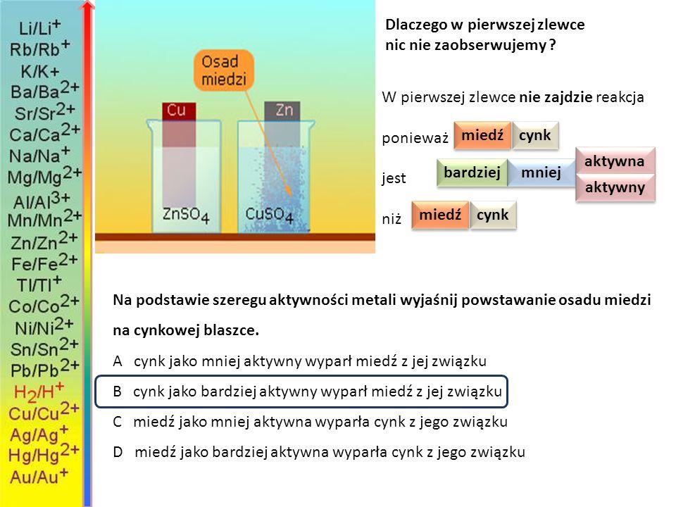 Cu 3 ( PO 4 ) 2 Cu Br 2 K 3 PO 4 K Br +→ +II – I +I – III +II – III +I – I roztwór bromku miedzi II połączono z roztworem fosforanu V potasu i powstał