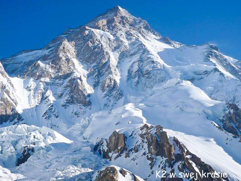K2 – ściana południowa
