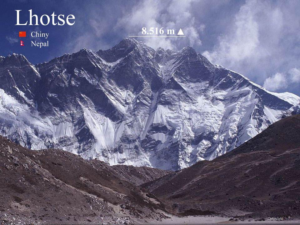 Daktylek Lhotse - ośmiotysięcznik w środkowej części Himalajów Wysokich, na granicy Nepalu i Chin, czwarty co do wysokości szczyt Ziemi, o wysokości 8516 m n.p.m., wierzchołek niższy – Lhotse Shar liczy 8383 m n.p.m.
