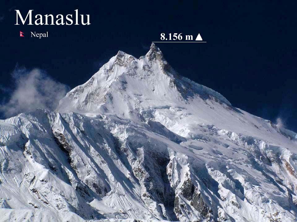Daktylek Manaslu - jest ósmym pod względem wysokości szczytem świata 8156 m n.p.m.