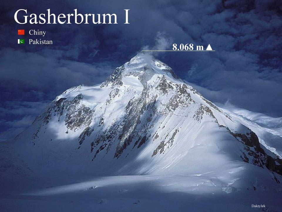 Daktylek Gaszerbrum I, Gasherbrum I, Hidden Peak lub K5 – jedenasta pod względem wysokości góra na świecie -8068 m n.p.m..