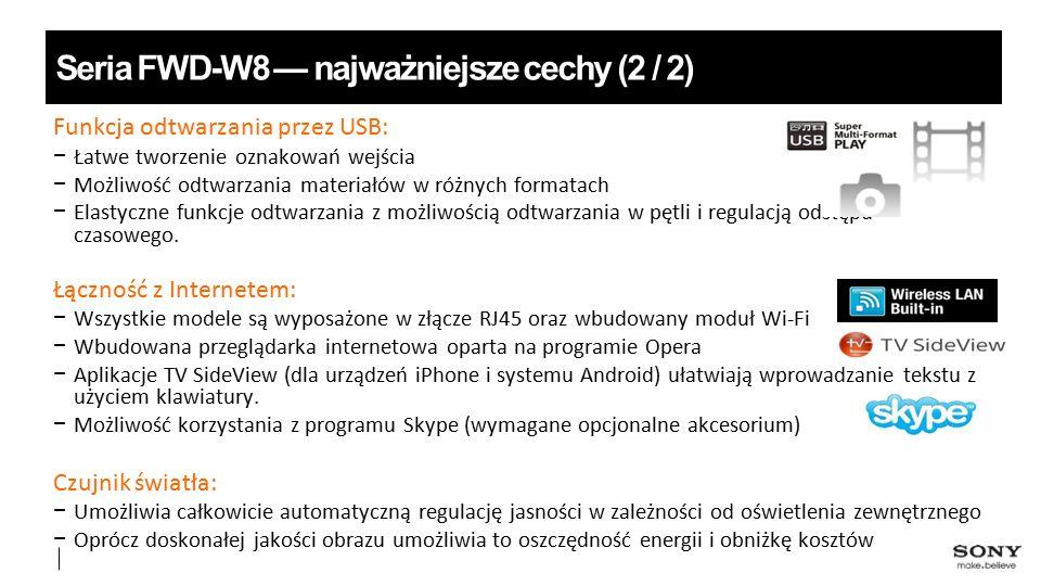 footer 8 Seria FWD-W8 — wejścia/wyjścia