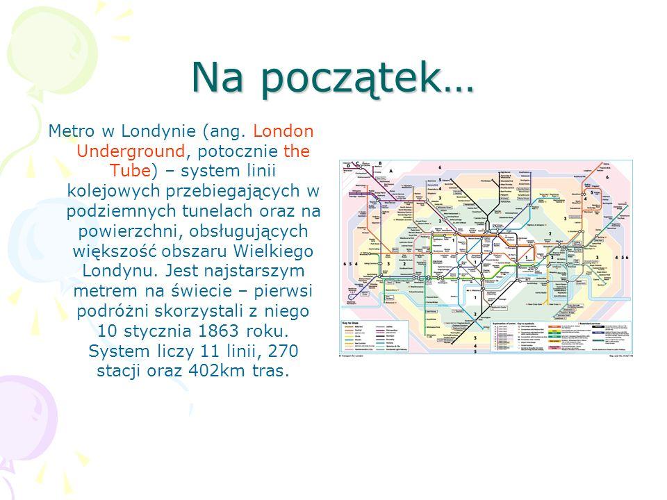 Na początek… Metro w Londynie (ang.
