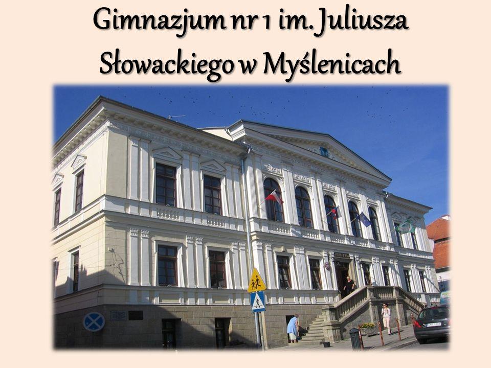 Gimnazjum nr 1 im. Juliusza Słowackiego w Myślenicach
