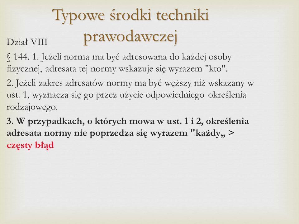 Przykłady: Art.3. 1.
