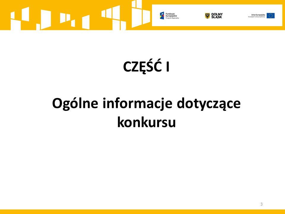 Konkurs ma charakter horyzontalny, tzn.ukierunkowany jest terytorialnie na OSI.