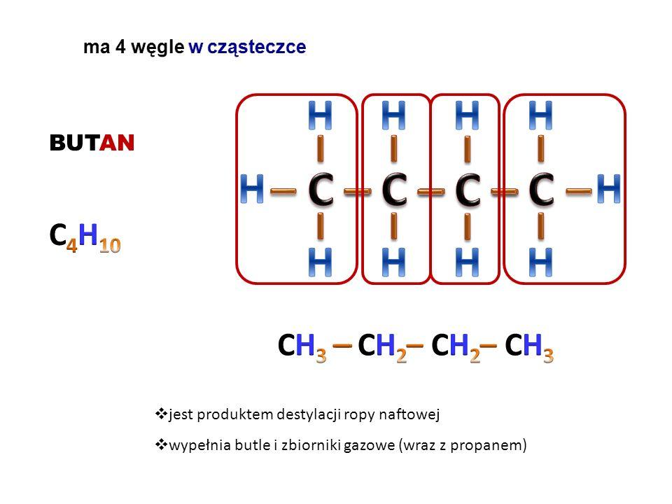 PROPAN  jest produktem destylacji ropy naftowej  wypełnia butle i zbiorniki gazowe (wraz z butanem)