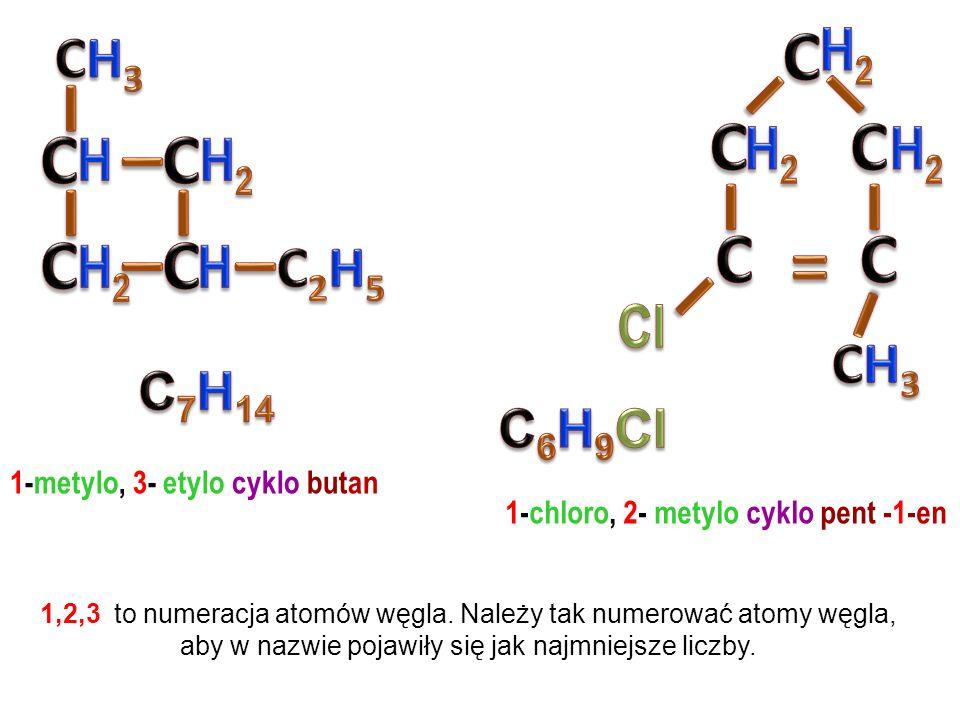 but – 1 – en but – 2 – en 2 – metylo propen cyklo butan metylo cyklo propan