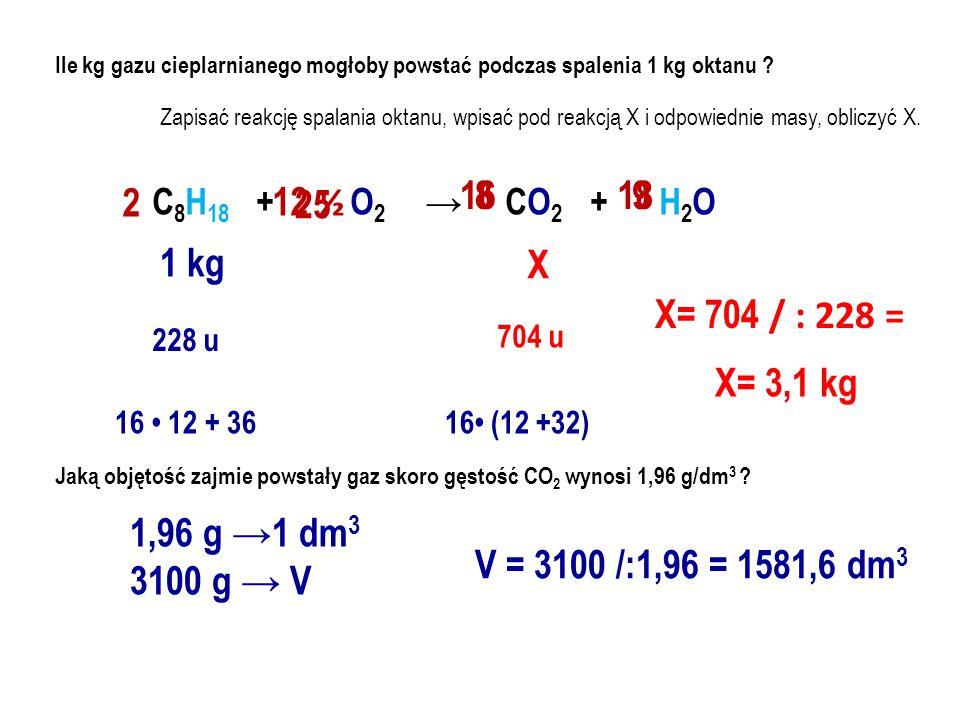 Wpisz wzory związków organicznych (półstrukturalne i sumaryczne) metanolmetanolan potasu stearynian potasukwas metanowy (mrówkowy) propyloaminametanian wapnia (mrówczan wapnia) glicerolmetanian etylu (mrówczan etylu) CH 2 – O – H CH – O – H CH 2 – O – H C 3 H 5 ( OH ) 3 CH 3 – O – H CH 4 O CH 3 – O – K H – C = O O – H CH 3 OK HCOOH H – C = O O – Ca O = C – H – O Ca ( HCOO ) 2 H – C = O O – CH 2 – CH 3 HCOO C 2 H 5 alkohol alkoholan kwas organiczny sól kwasu organicznego ester alkohol mydło = sól C 17 H 35 – C = O O – K CH 3 – CH 2 – CH 2 –N HHHH