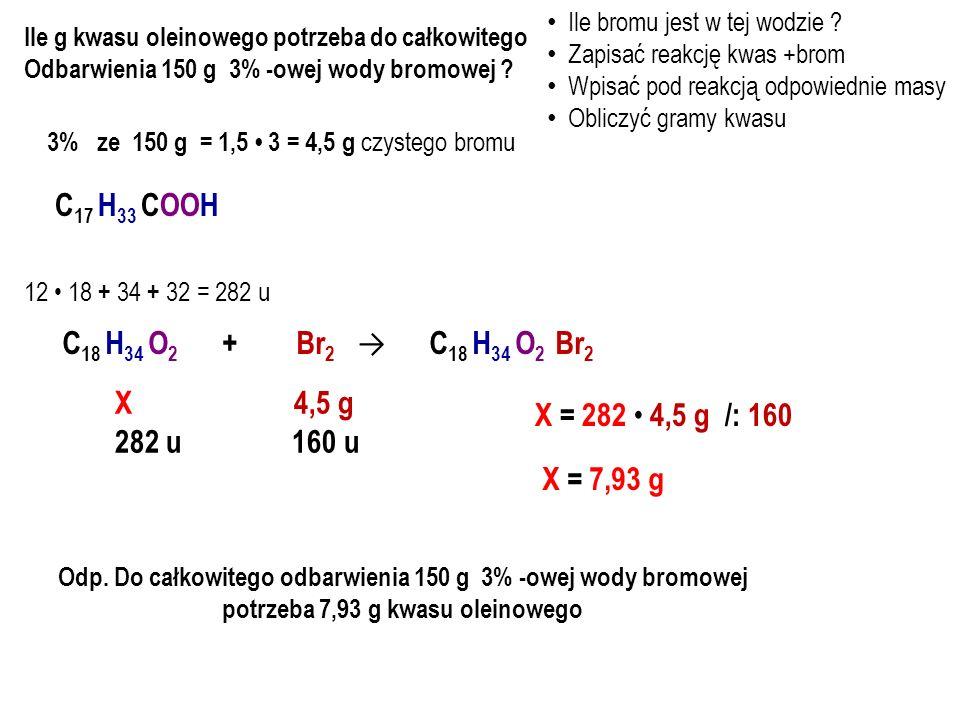 kwas metanowytlenek wapnia metanian wapnia O // 2 H – C – O – H+ Ca = O → H 2 O + O // H – C – O – 2 HCOOH + CaO → H 2 O + Ca(HCOO) 2 2 cząsteczki + 1 cząsteczka → 1 cząsteczka + 1 cząsteczka kwasu tlenku wody metanianu mrówkowego wapnia wapnia O // – O – C – H