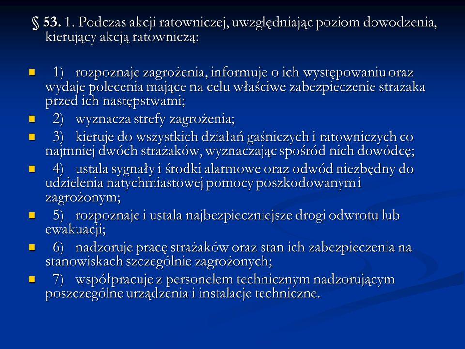 Rozdział 4 Wymagania bezpieczeństwa i higieny służby podczas prowadzenia akcji ratowniczych w transporcie