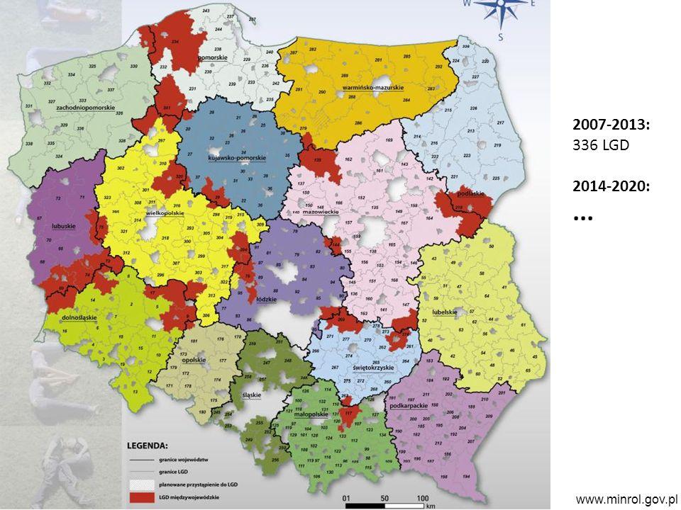 www.minrol.gov.pl 2007-2013: 336 LGD 2014-2020:...
