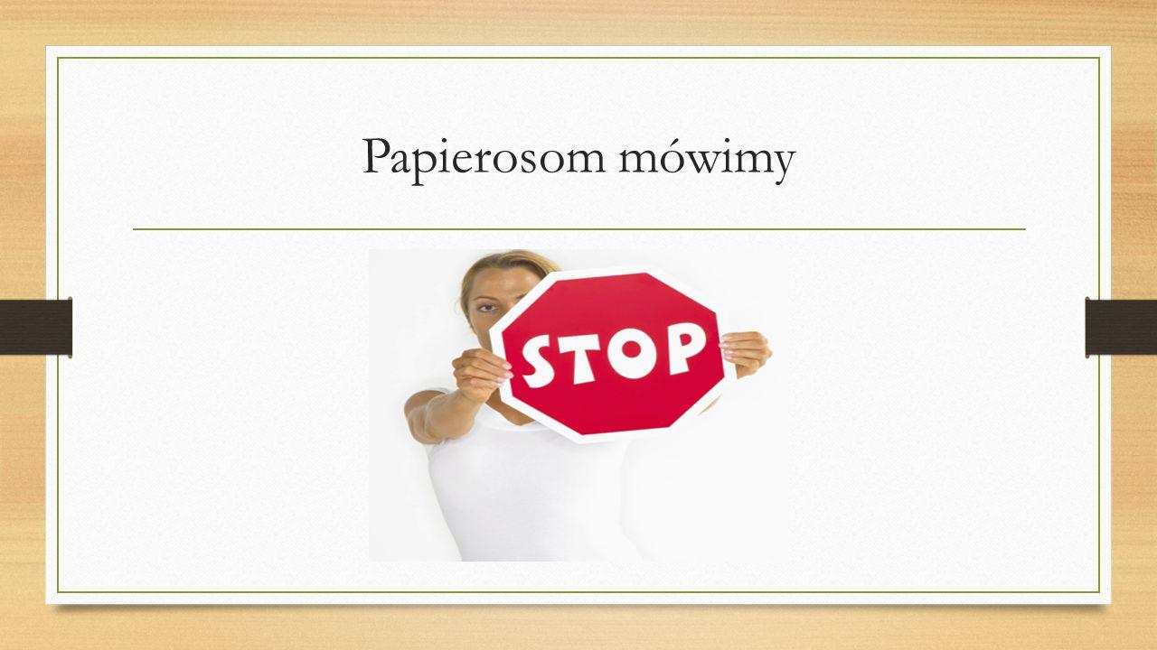 Papierosom mówimy