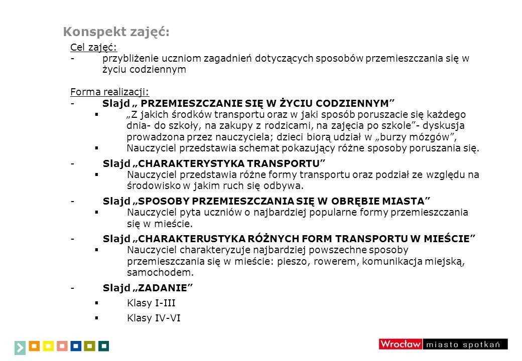 Plan prezentacji: 1.PRZEMIESZCZANIE SIĘ W ŻYCIU CODZIENNYM 2.CHARAKTERYSTYKA TRANSPORTU 3.SPOSOBY PRZEMIESZCZANIA SIĘ W OBRĘBIE MIASTA 4.CHARAKTERUSTYKA RÓŻNYCH FORM TRANSPORTU W MIEŚCIE 5.KARTY PRACY- wyjaśnienie