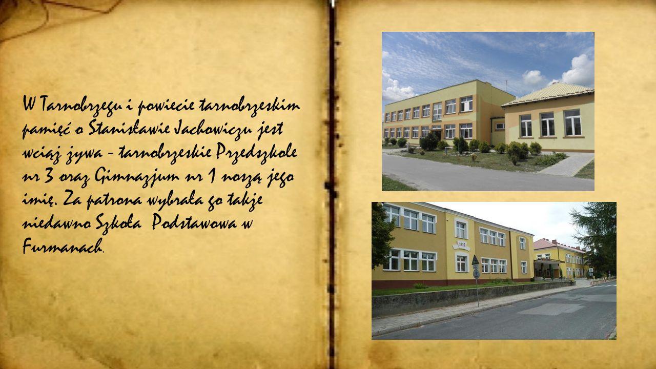 Staro ść Wyczerpany intensywną pracą Stanisław Jachowicz utracił siły i wzrok. W hołdzie dla jego zasług, na jego 61. urodziny przyjaciele i uczniowie