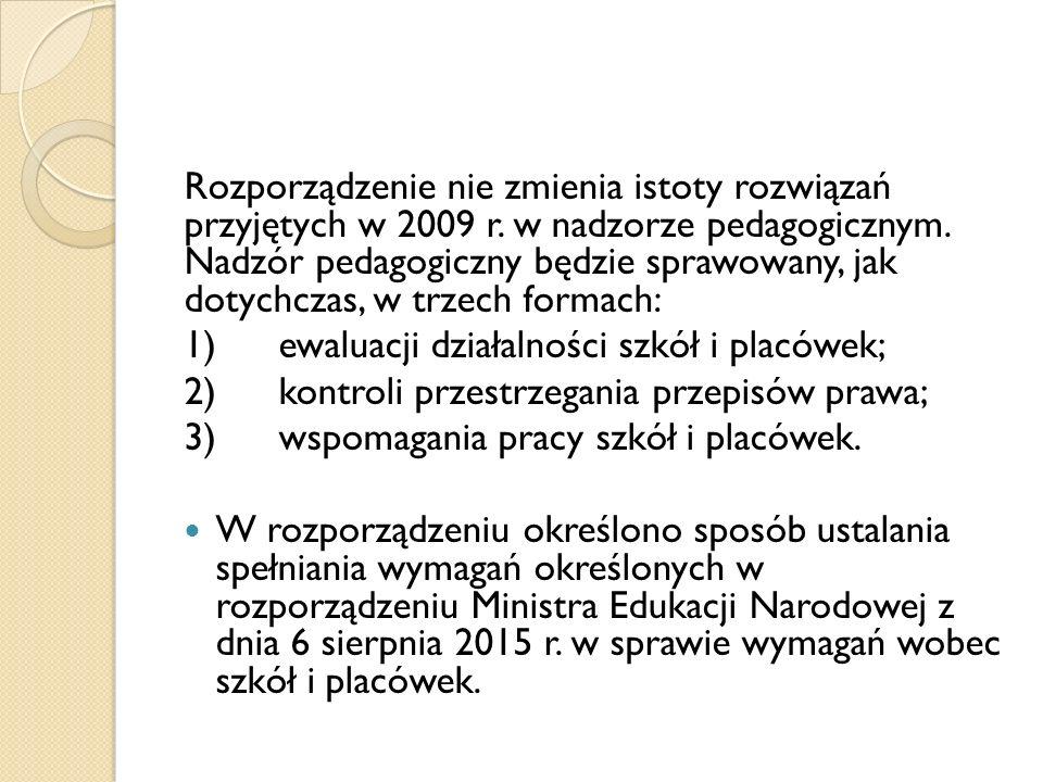 Rozporządzenie nie zmienia istoty rozwiązań przyjętych w 2009 r.