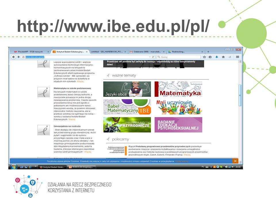 http://www.ibe.edu.pl/pl/