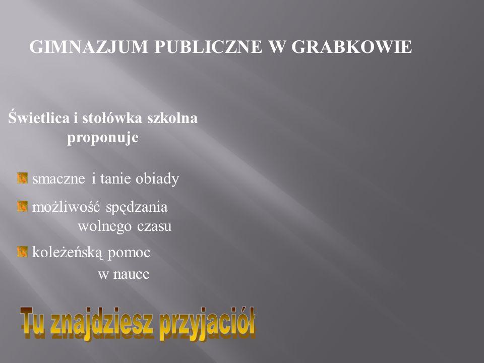 GIMNAZJUM PUBLICZNE W GRABKOWIE Centrum multimedialne w bibliotece