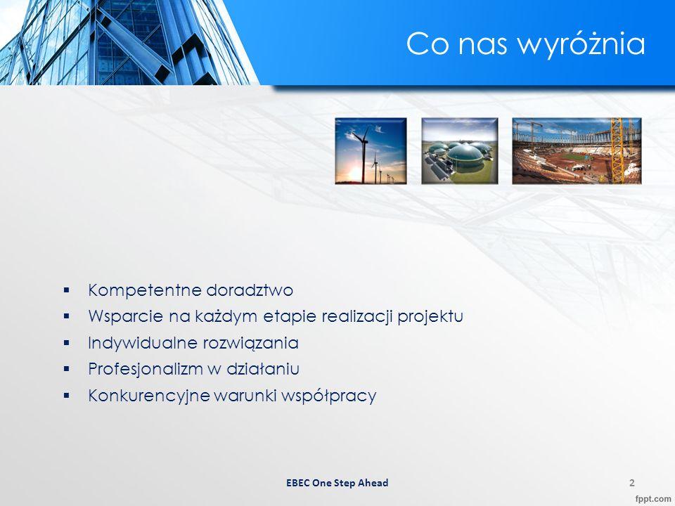 3 O firmie Firma EBEC Sp.z o.o. sp. k.