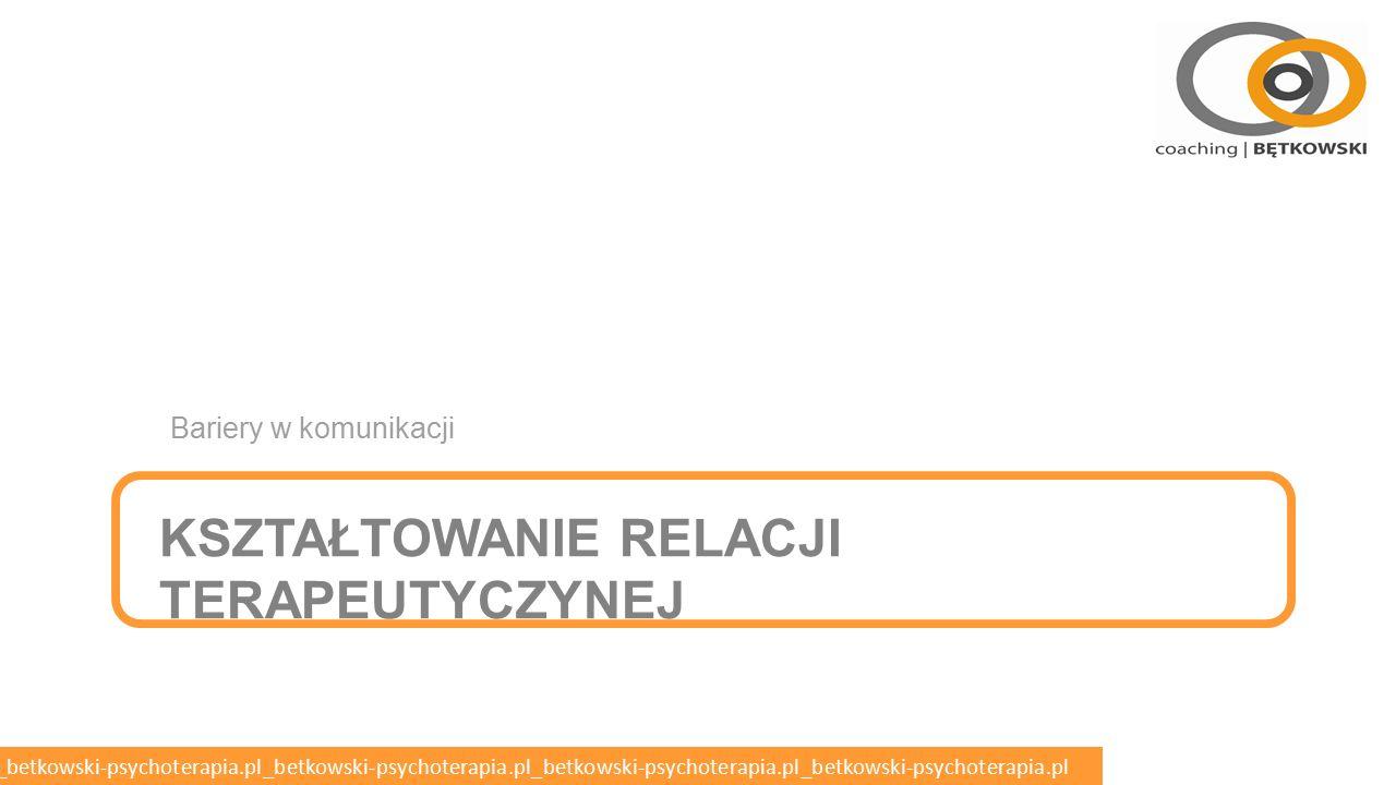 betkowski-psychoterapia.pl_betkowski-psychoterapia.pl_betkowski-psychoterapia.pl_betkowski-psychoterapia.pl_betkowski-psychoterapia.pl Deficyt o Brak – obiektywny czynnik ograniczający możliwy zakres zachowań pacjenta o Deficyt intelektualny (upośledzenia, otępienie) o Deficyt neurologiczny (np.
