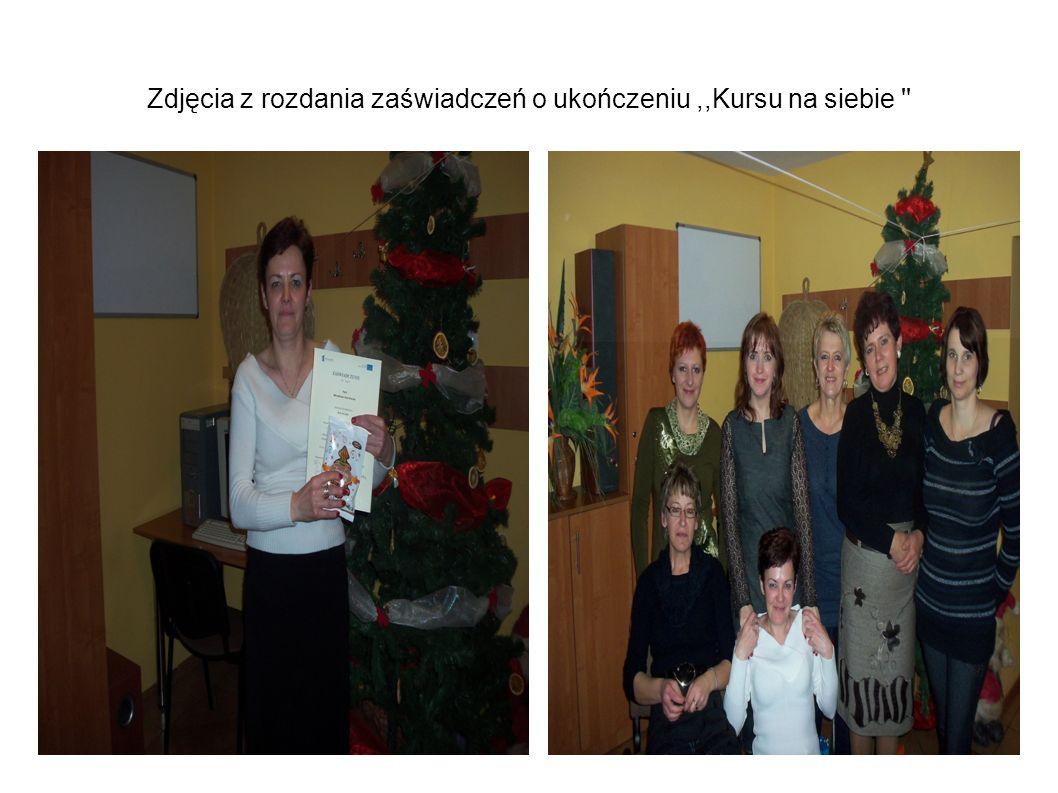W latach 2012 – 2013 w projekcie,, Kurs na siebie wzięło udział odpowiednio 23 osoby, i 25 osób w wieku aktywności zawodowej.