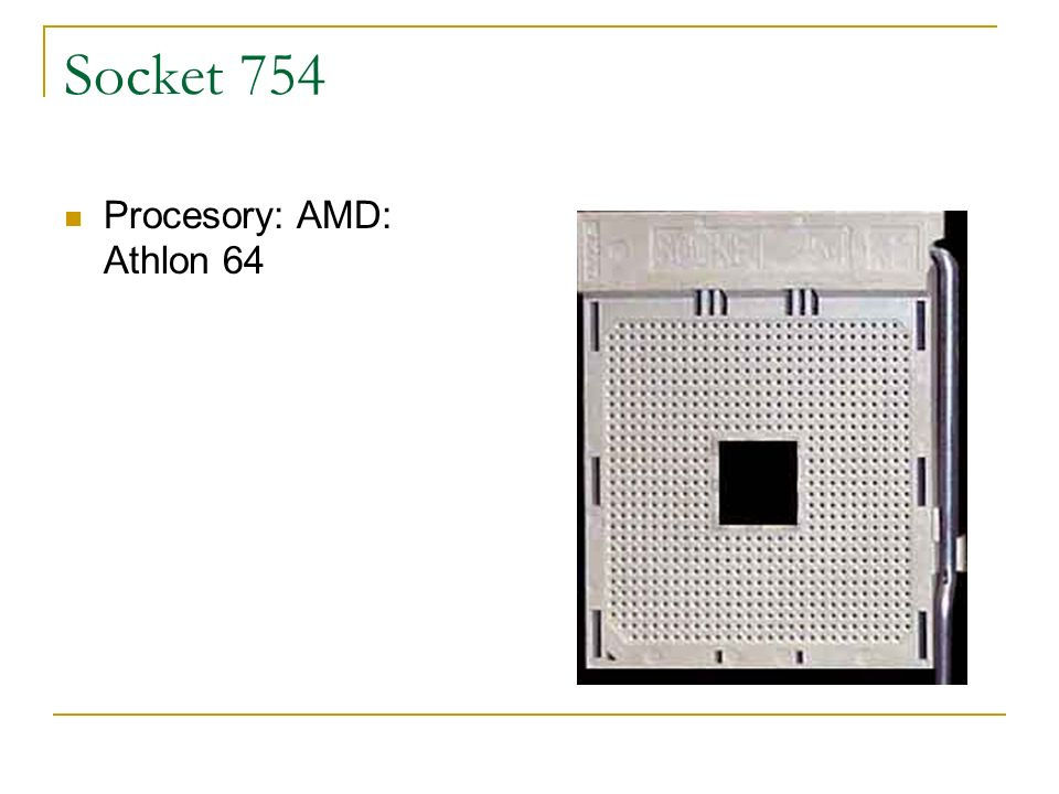 Socket 754 Procesory: AMD: Athlon 64