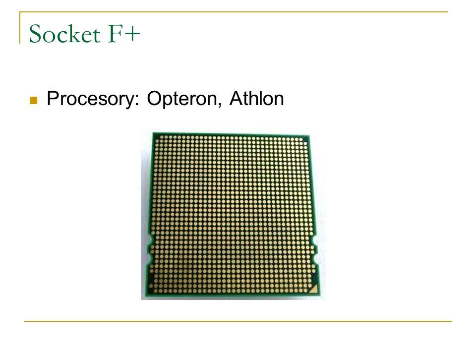 Socket F+ Procesory: Opteron, Athlon