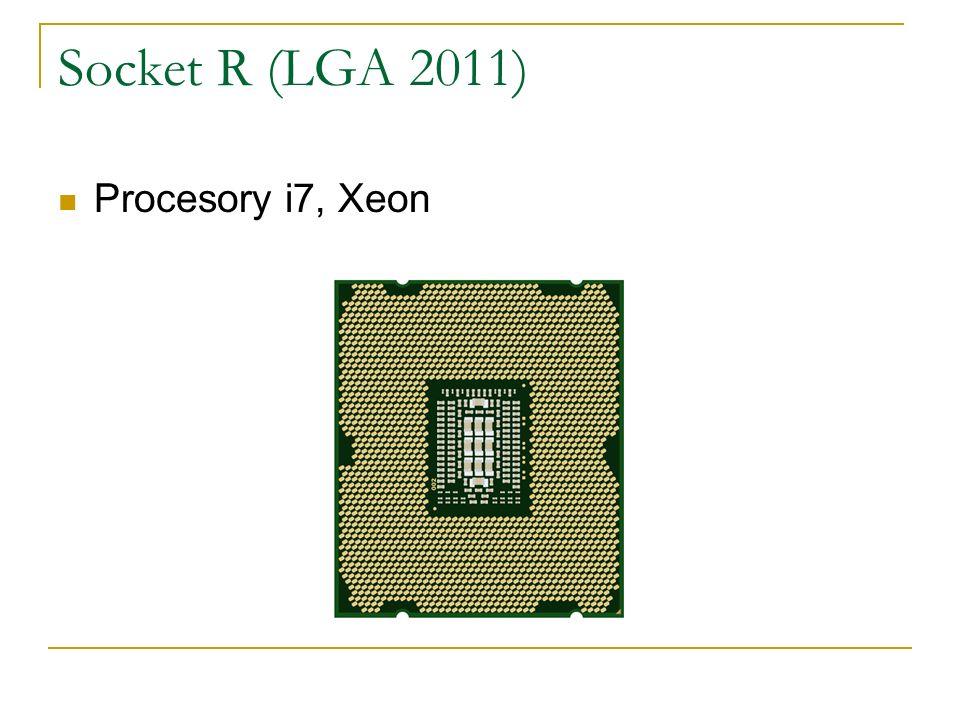Socket R (LGA 2011) Procesory i7, Xeon