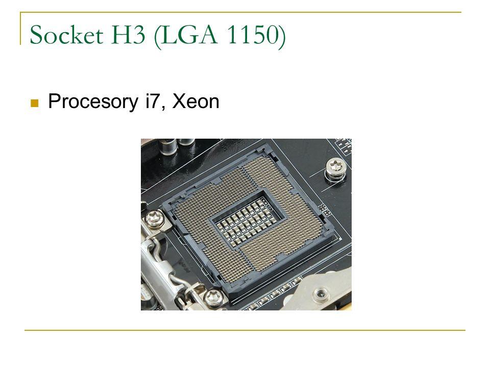 Socket H3 (LGA 1150) Procesory i7, Xeon