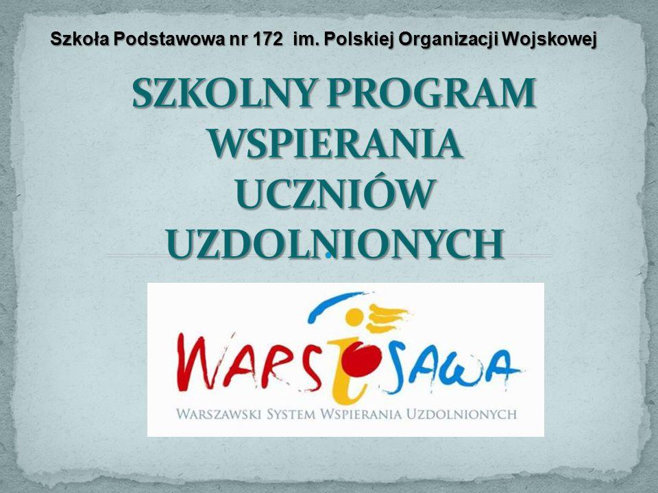 Szkoła Podstawowa nr 172 im. Polskiej Organizacji Wojskowej