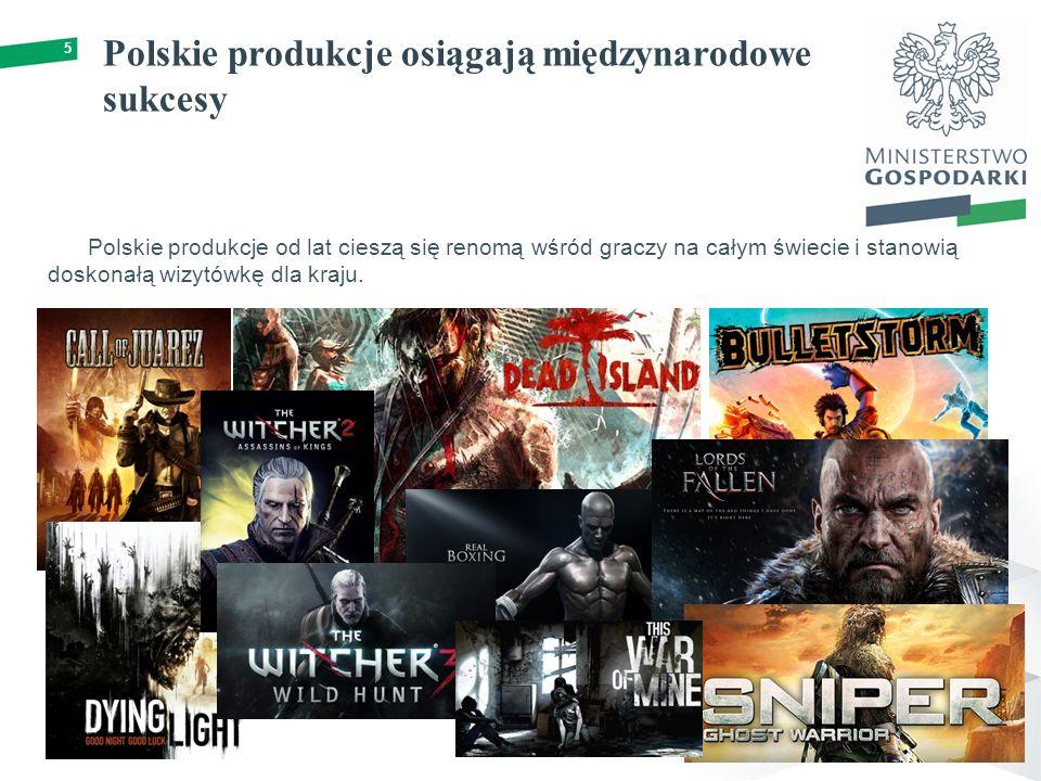 Polskie produkcje osiągają międzynarodowe sukcesy 5 Polskie produkcje od lat cieszą się renomą wśród graczy na całym świecie i stanowią doskonałą wizytówkę dla kraju.
