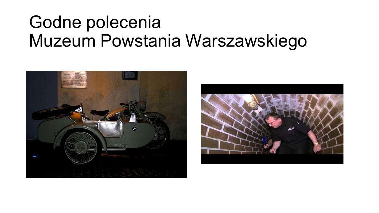 Godne polecenia Muzeum Powstania Warszawskiego