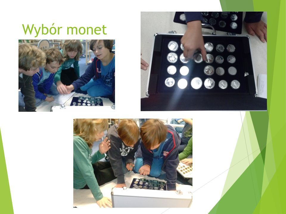 Monety bez tajemnic Każdą monetę możemy zbadać pod kilkoma aspektami.