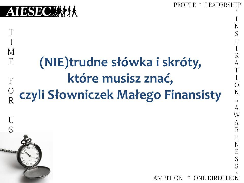 FINANSISTA – [LC VP F / VP F] Wiceprezydent Komitetu Lokalnego ds.
