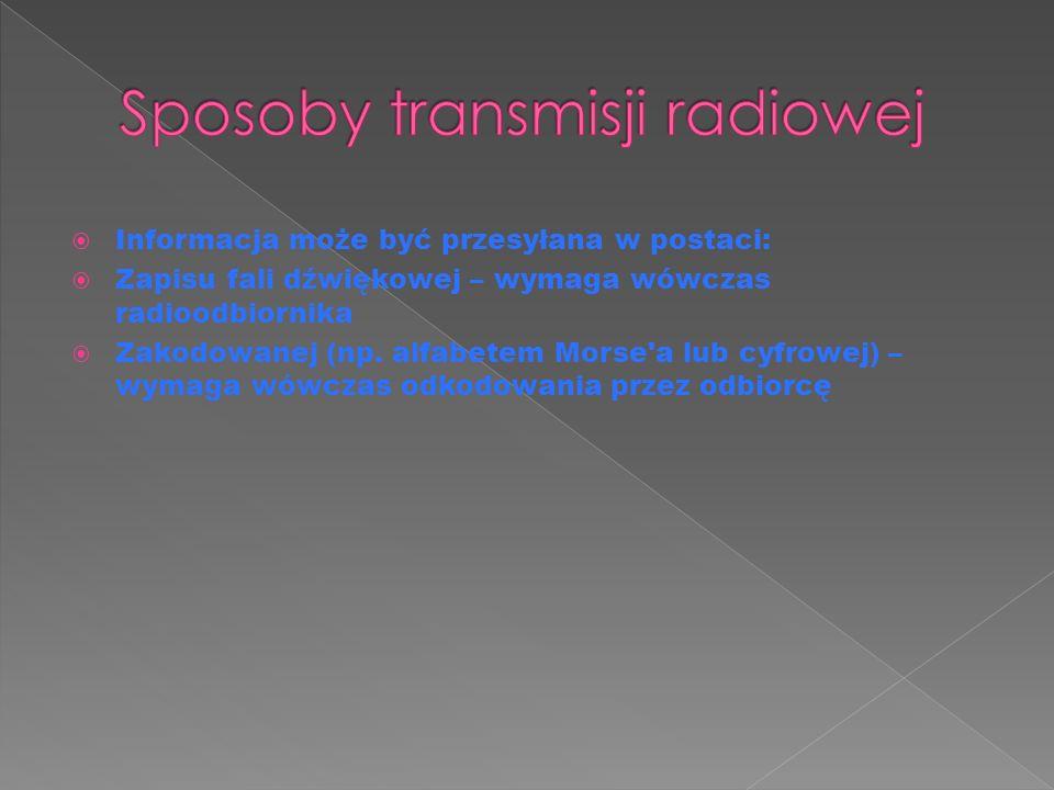  Radio internetowe – rozgłośnia cyfrowa, nadająca swoje audycje poprzez Internet, za pomocą przesyłania strumieniowego, zwykle w formacie MP3, Ogg Vorbis, RealAudio,AAC+ lub Windows Media Audio, często jest radiem amatorskim.