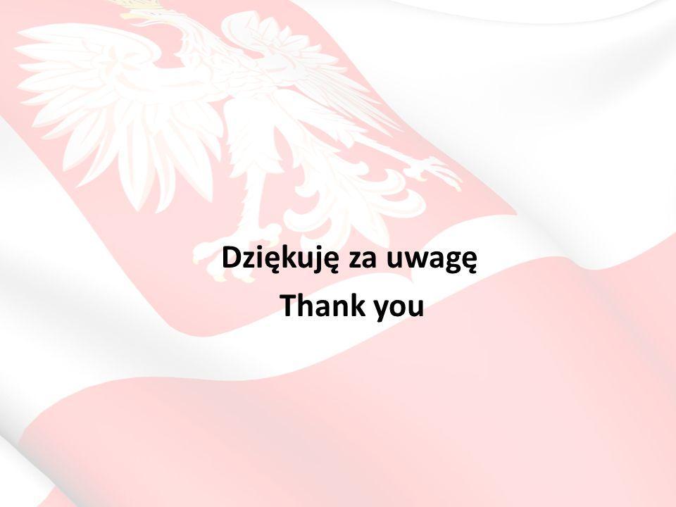 Dziękuję za uwagę Thank you