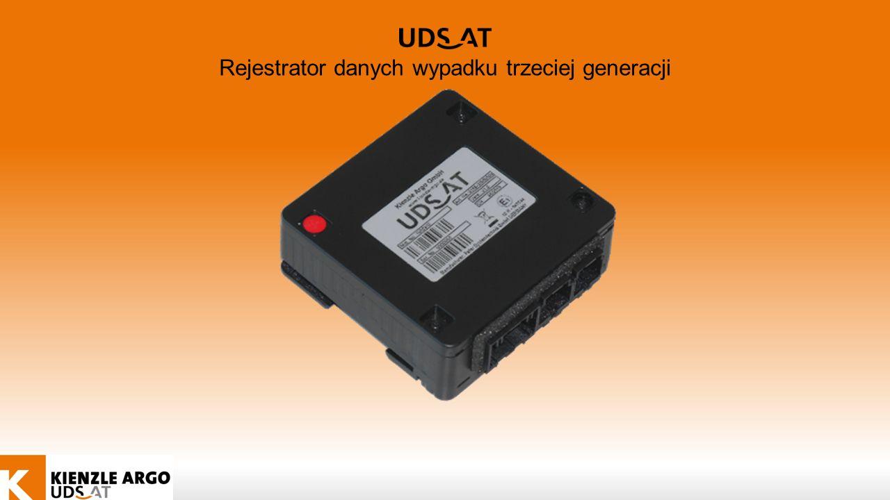 Rejestrator danych wypadku trzeciej generacji