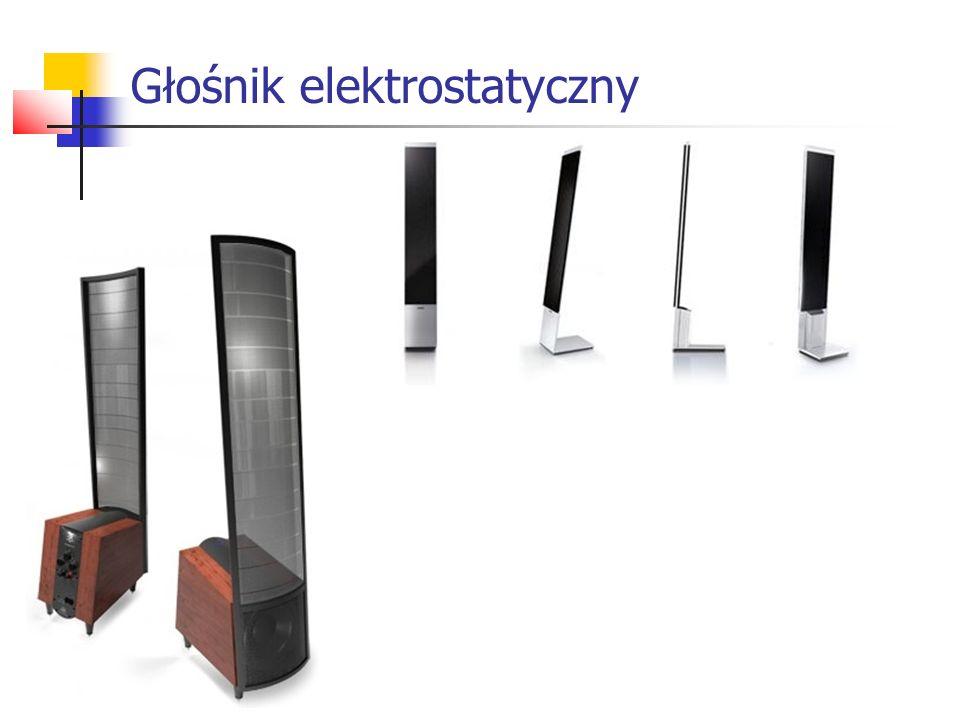 Głośnik elektrostatyczny