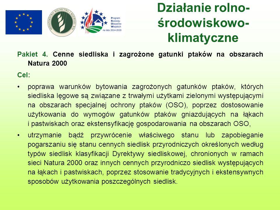 Wsparcie inwestycji w gospodarstwach rolnych (Inwestycje w gospodarstwach położonych na obszarach Natura 2000) Termin ogłoszenia i uruchomienia naboru planowany jest na 2016 rok.
