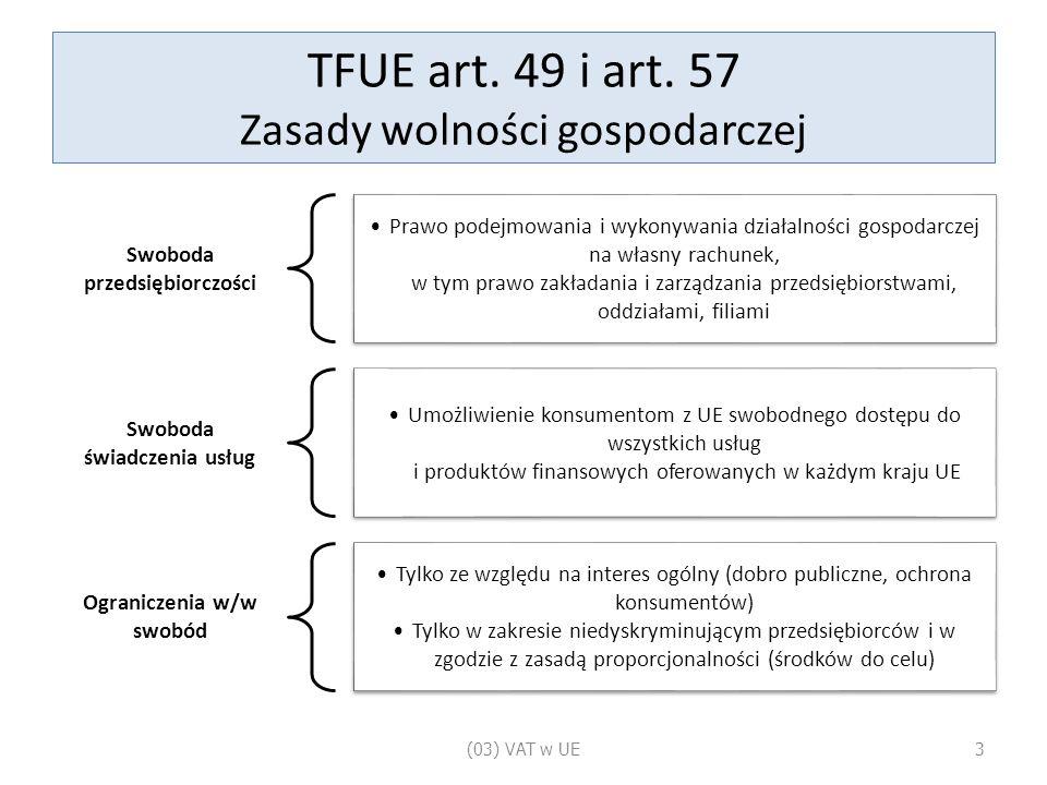 TFUE art. 49 i art.
