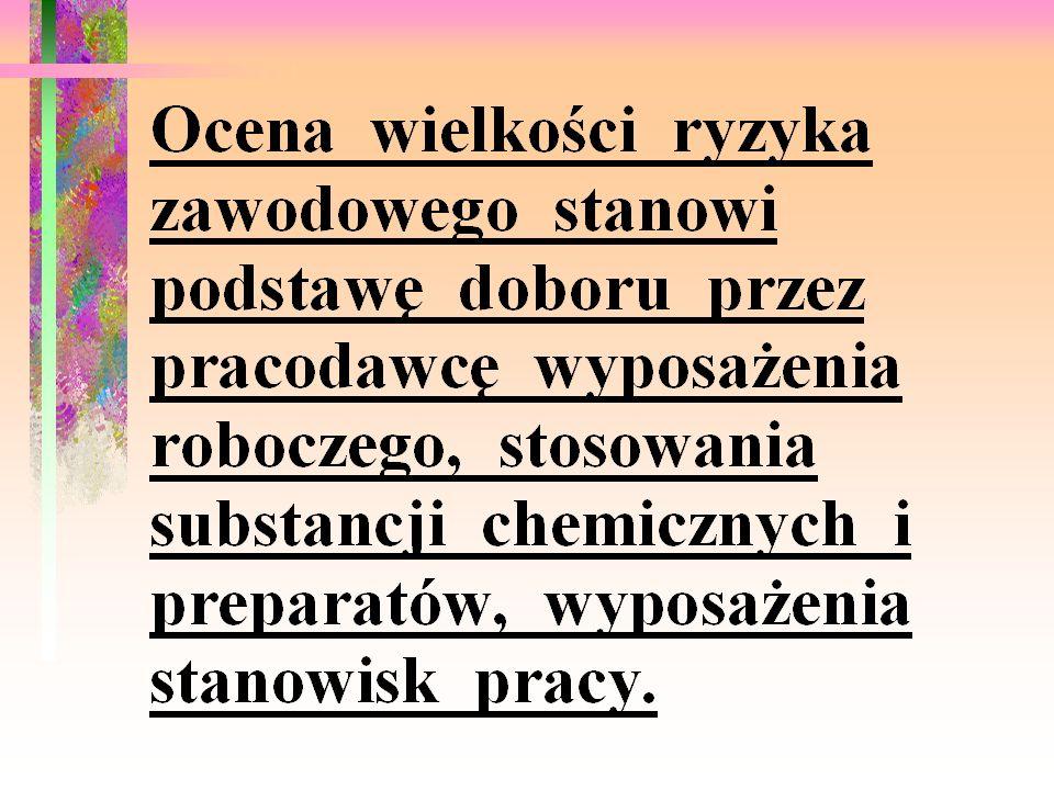 RYZYKO RYZYKO ZAWODOWE (STANOWISKOWE) PN-N-18002 RYZYKO CAŁKOWITE (KATEGORIA BEZPIECZEŃSTWA PRZEDSIĘBIORSTWA) RYZYKO PROCESOWE