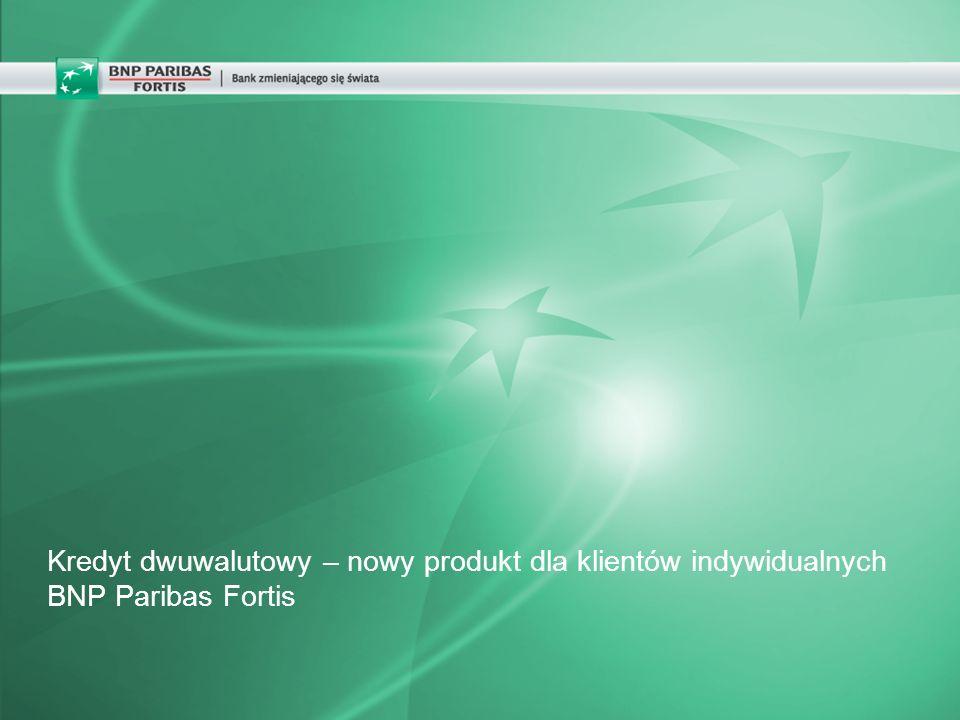 Kredyt dwuwalutowy – nowy produkt dla klientów indywidualnych BNP Paribas Fortis
