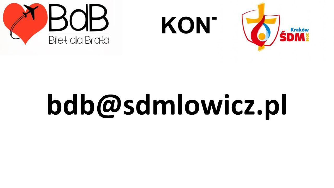 KONTAKT: bdb@sdmlowicz.pl