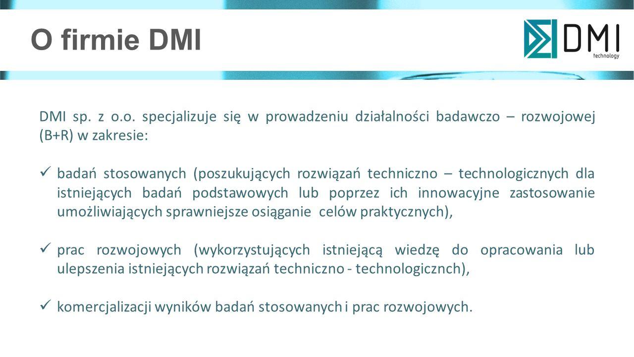 O firmie DMI DMI sp. z o.o.