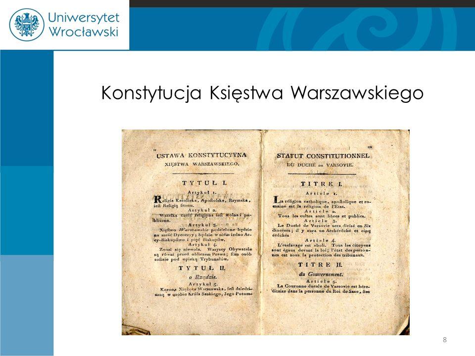 Konstytucja Księstwa Warszawskiego 8