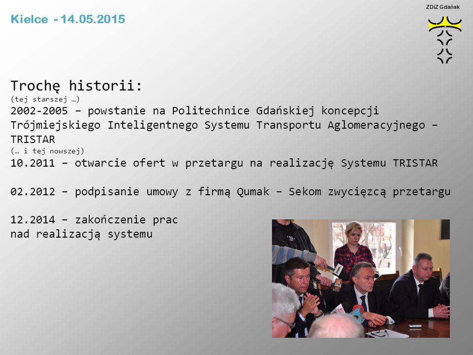 Trochę historii: (tej starszej …) 2002-2005 – powstanie na Politechnice Gdańskiej koncepcji Trójmiejskiego Inteligentnego Systemu Transportu Aglomerac